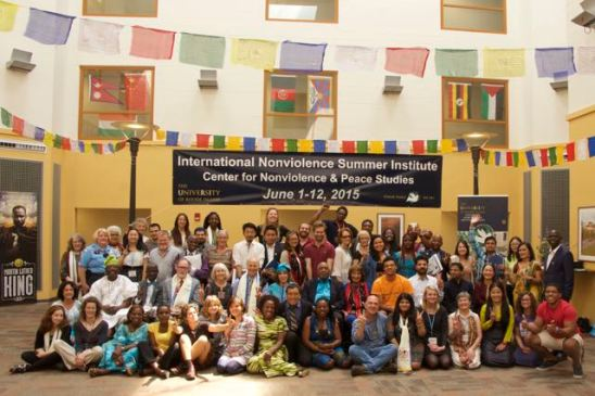 Alumni of the 15th International Nonviolence Summer Institute